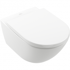 Villeroy&Boch Subway 3.0 Twist flush pakabinamas klozetas su soft close dangčiu