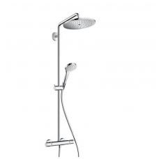 Virštinkinė termostatinė dušo sistema Hansgrohe Croma Select 280 Air 1-os padėties