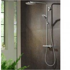 Virštinkinė termostatinė dušo sistema Raindance Select S 240 1jet PowderRain (spalvų pasirinkimas)