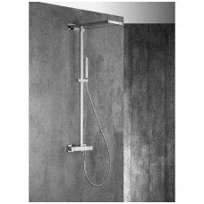 Virštinkinė termostatinė dušo sistema su kaskada Alpi Trio