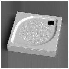 Vispool kvadratinis dušo padėklas KK-80/90/100