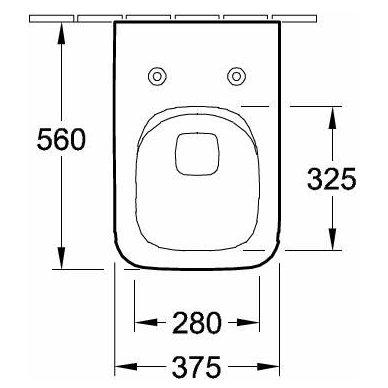 Villeroy & Boch potinkinis WC komplektas su VENTICELLO WC soft close dangčiu 7