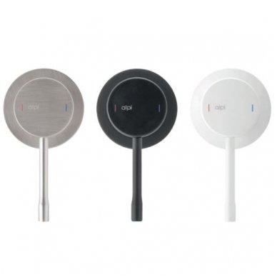 Virštinkinė termostatinė dušo sistema Alpi Blue (balta/juoda/nikelis) 3