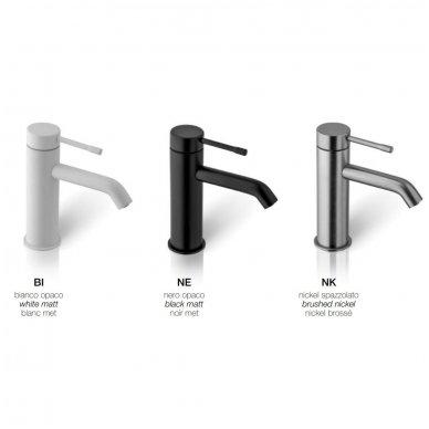 Virštinkinė termostatinė dušo sistema Alpi Blue (balta/juoda/nikelis) 2