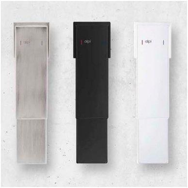 Virštinkinė termostatinė dušo sistema Alpi Una18 (balta/juoda/nikelis) 3
