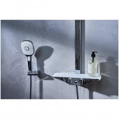 Virštinkinė termostatinė dušo sistema Oras Esteta Wellfit 7592-11 2