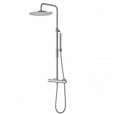Virštinkinė termostatinė dušo sistema Paffoni Light (spalvų pasirinkimas)