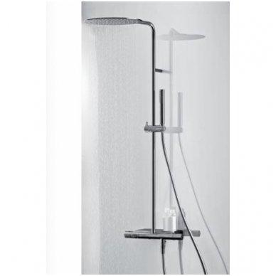 Virštinkinė termostatinė dušo sistema su lentynėle Alpi Nu