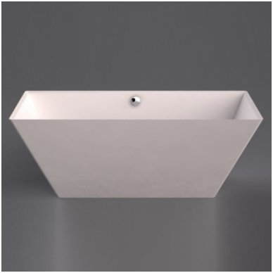 Vispool vonia Quadro 175 iš Marmoryl medžiagos 4