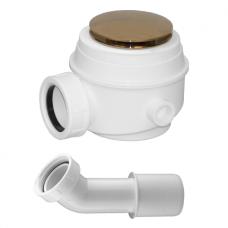 Vonios sifonas be persipylimo WB01XGL (aukso spalvos)