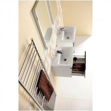 Vonios spintelė Erra Ella su praustuvu, 50/60 cm