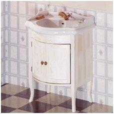 Vonios spintelė Retro su Kerasan Retro praustuvu