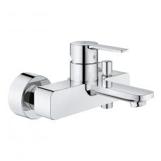 Vonios/dušo maišytuvas Grohe Lineare chrome/supersteel