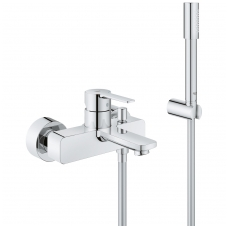 Vonios/dušo maišytuvas Grohe Lineare su rankiniu dušu