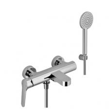 Vonios/dušo maišytuvas su rankiniu dušu ir snapu Alpi Glam