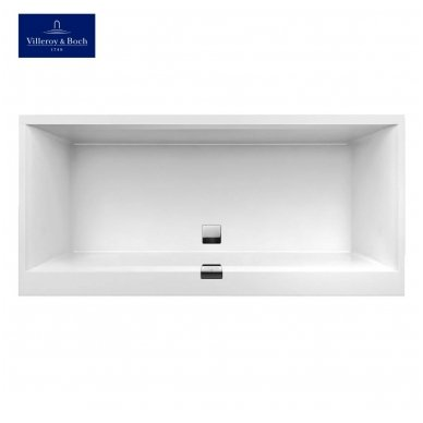 Villeroy & Boch vonia iš Quaryl medžiagos Squaro Edge 12 170x75 2
