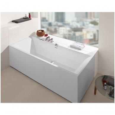 Villeroy & Boch vonia iš Quaryl medžiagos Squaro Edge 12 170x75