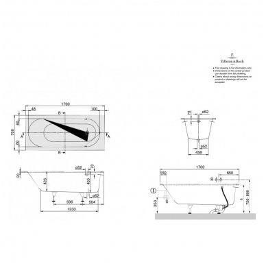 Vonia Villeroy & Boch Oberon iš Quaryl medžiagos 9