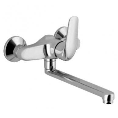 Vonios/dušo maišytuvas su ilgu snapu Alpi City Plus