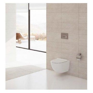WC rėmo Grohe Fresh ir klozeto Vitra Sento Rim-Ex komplektas 2
