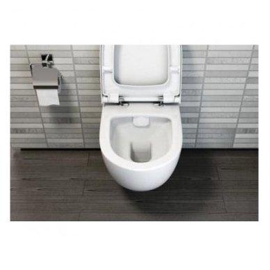 WC rėmo Grohe Fresh ir klozeto Vitra Sento Rim-Ex komplektas 5