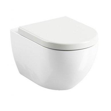 WC Rėmo Sanit ir pakabinamo klozeto Ravak Uni Chrome Rim komplektas 6